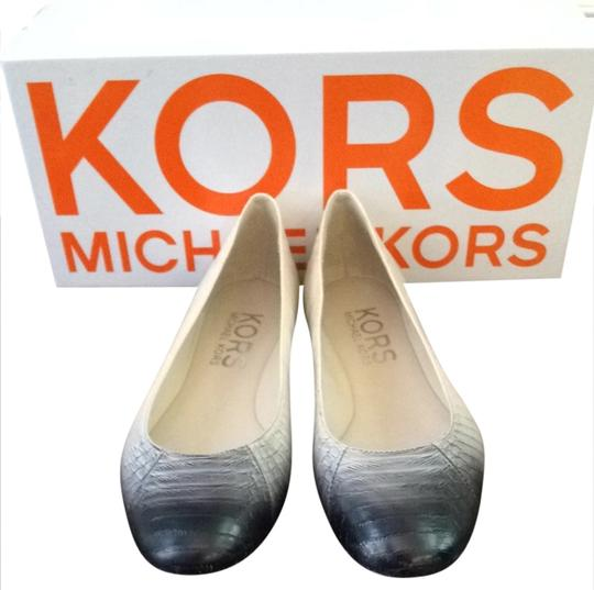 Michael Kors Black And Ivory Flats Image 1
