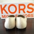 Michael Kors Black And Ivory Flats Image 3