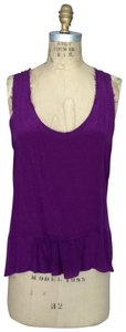 Hy & Dot Top Purple & Heather Grey