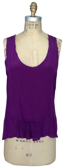 Preload https://item1.tradesy.com/images/purple-and-heather-grey-silk-jersey-tank-topcami-size-12-l-116890-0-0.jpg?width=400&height=650