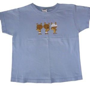 Gariani Funny Cotton T Shirt blue