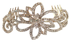 Ravishing Bridal Hair Comb Austrian Crystals