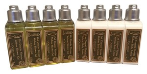 L'Occitane Loccitane Lotion and Shower Gel - (Set of 8 Bottles)