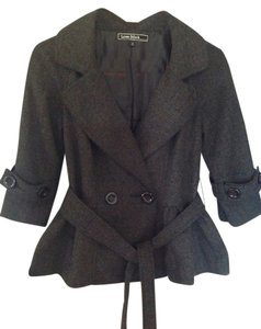 Love Stitch Grey Blazer