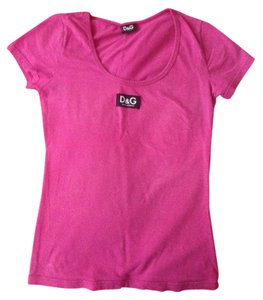 Dolce&Gabbana T Shirt Hot Pink