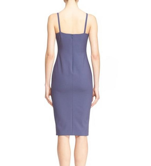 Elizabeth and James Sleeveless Plunge Cocktail Evening Cut-out Dress