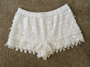 RAGA Shorts White
