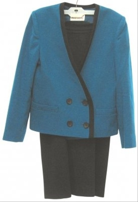 Other WOOL SUIT AQUA BLUE/BLACK
