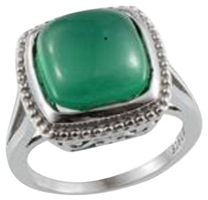 Other Green Chalcedony Ring