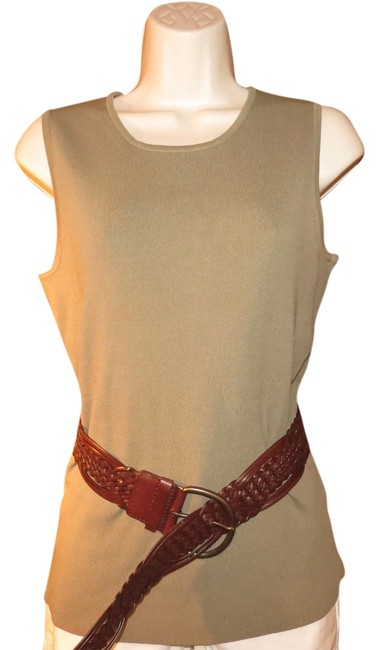 Fred David Top OLIVE GREEN