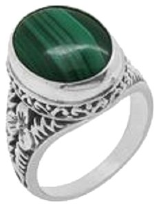 African Malachite Ring