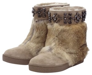 Tory Burch Rabbit BEIGE Boots