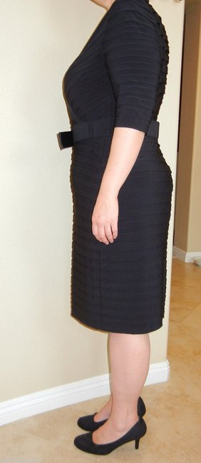 Adrianna Papell Plus Size Wear To Work Little Dress Image 3