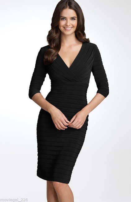 Adrianna Papell Plus Size Wear To Work Little Dress Image 4