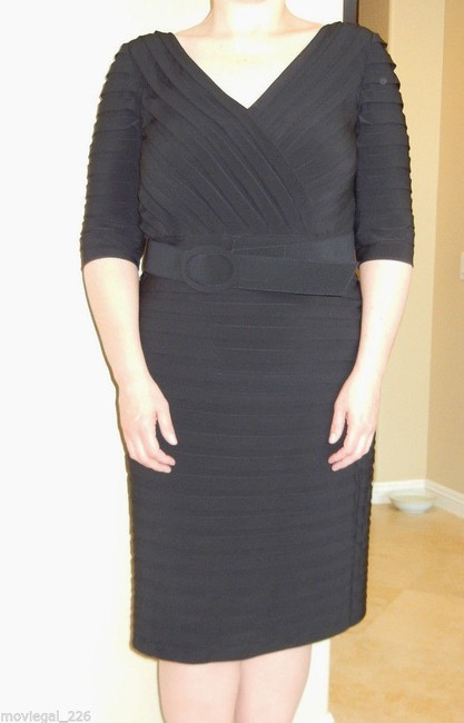 Adrianna Papell Plus Size Wear To Work Little Dress Image 6