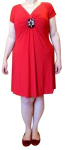 Ronni Nicole short dress Red Shapewear With Tags on Tradesy