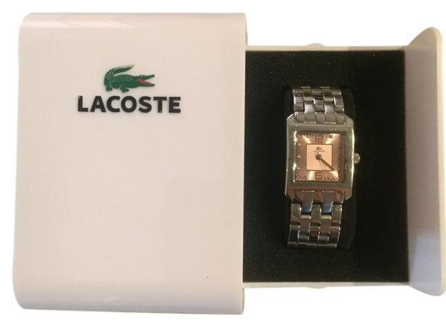 Item - Pink Face Stainless Steel Band Ladies Watch