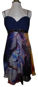Dave & Johnny Silk Dress