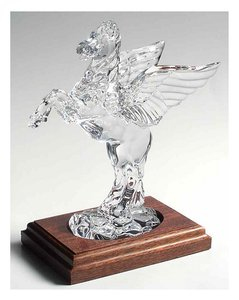 Waterford Crystal Legends & Lore Collector's Society Figurine Pegasus Decoration