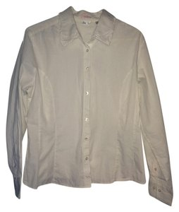 Riders by Lee Button Down Shirt White