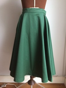 Sultanna Frantsuzova Designer Russian Green Skirt Forest green
