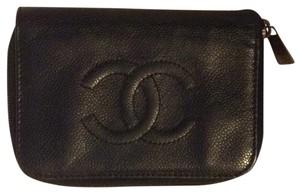 Chanel Classic Timeless Bifold CC French Purse Woc Zip Around Passport Holder