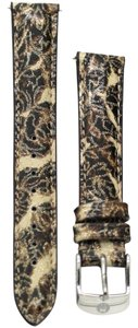 Michele Michele 16mm Brown Cheetah Patent Leather Strap MS16AA350211 CSX Deco Caber