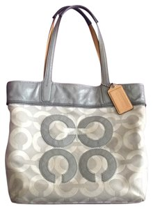Coach Handbag Tote in Grey