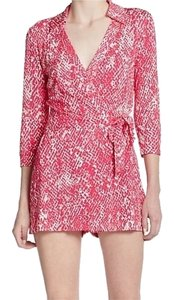 Diane von Furstenberg Dvf Romper Jumpsuit Wrap Dress