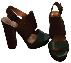 Vince Camuto Purple gray and teal Platforms
