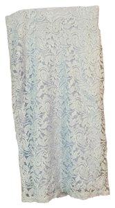 Forever 21 Lace Beutiful Skirt Light Blue