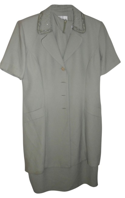 Item - Green Vintage and Matching Coat Mid-length Work/Office Dress Size 14 (L)