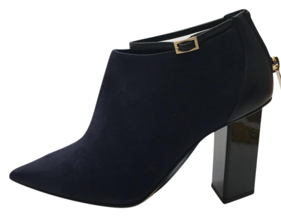 women Jimmy Selected Choo Navy Black Boots/Booties Selected Jimmy materials ee3c3e