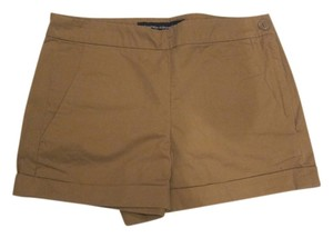 French Connection Cuffed Shorts Tan