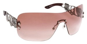 Dior Dior Spuns Rimless Polycarbonate Sunglasses In Pink And Pewter Brand New