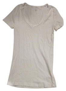 J.Crew T Shirt White and Navy