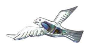 Bird Shaped Brooch