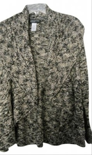 Preload https://item1.tradesy.com/images/jones-new-york-tweed-black-and-cream-open-front-swing-style-cardigan-sweaterpullover-size-10-m-11700-0-0.jpg?width=400&height=650
