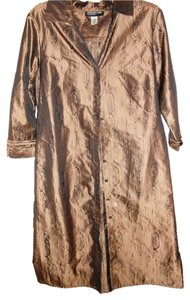 Jones New York short dress Bronze/Black on Tradesy