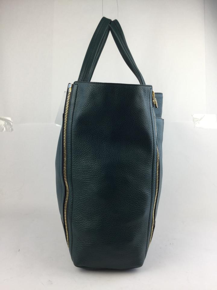 Ferragamo Dark Green Tote Suzanne Salvatore Leather wB6OBA