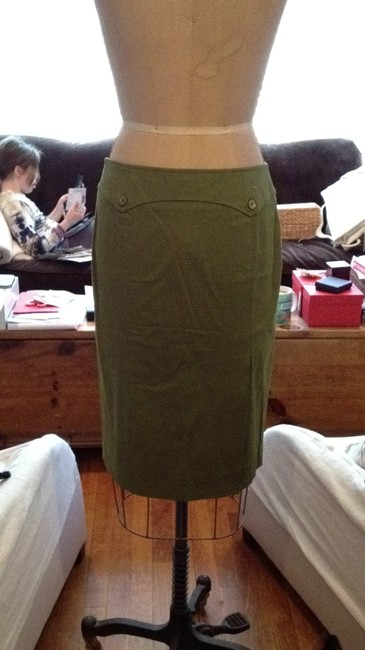 Valentino Skirt Army Green Image 1