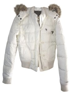Abercrombie & Fitch Winter Down Feather Puffer Coat
