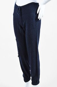 Barrie Pace Cashmere Textured Knit Drawstring Jogging Pants