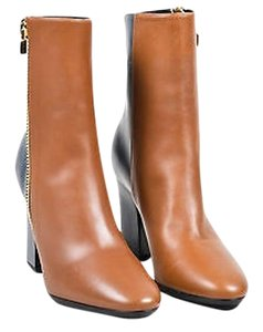 Pierre Hardy Tan Gray Leather Multi-Color Boots