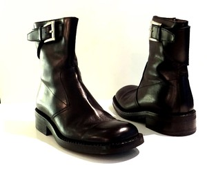 Prada Black Ankle Boots Shoes