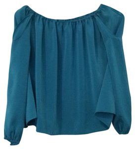 Body Language Top Aqua