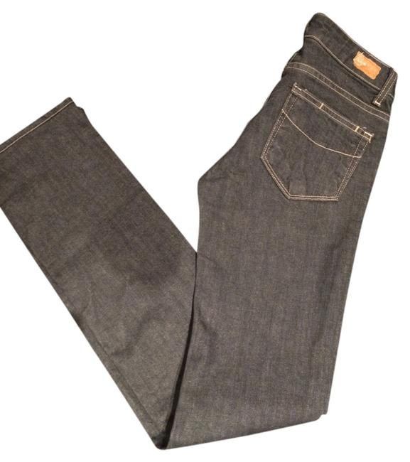 Item - Grey Medium Wash Straight Leg Jeans Size 26 (2, XS)