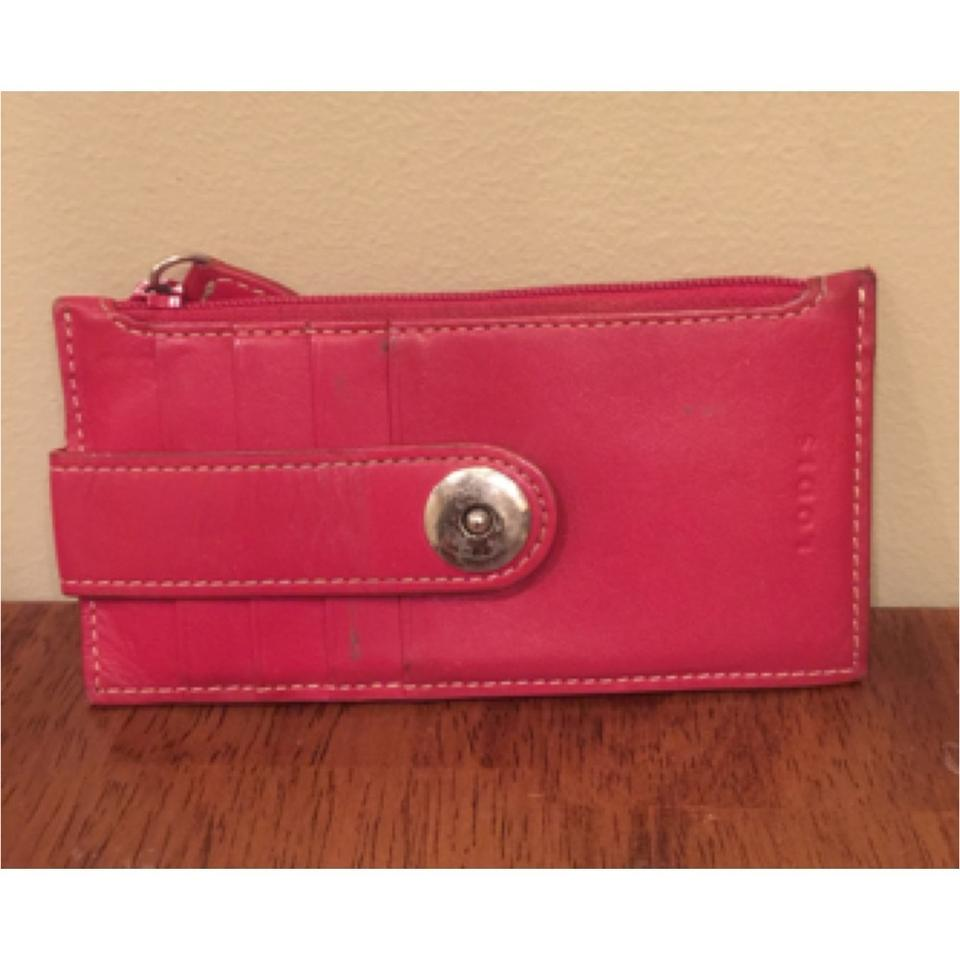 check out e7ba6 201c5 Red Credit Card Holder Wallet