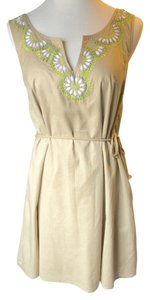 Calypso St. Barth for Target short dress Taupe Summer Mini Summer on Tradesy