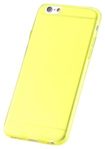 """Other Yellow - IPhone 6 / 6s 4.7"""" TPU Rubber Gel Ultra Thin Case Cover Transparent Glossy 10 Colors Available"""